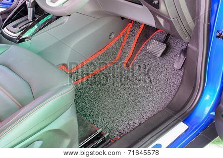 Vinyl Car Mat