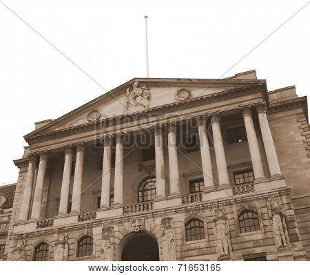 Vintage Bank Of England