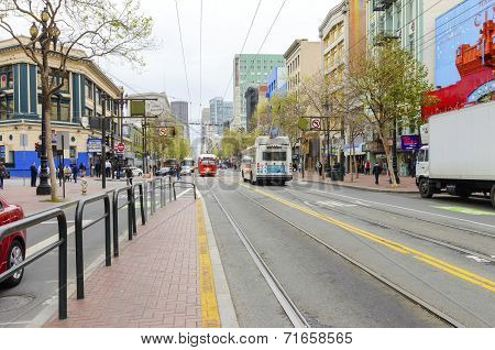 Market Street, Downtown San Francisco