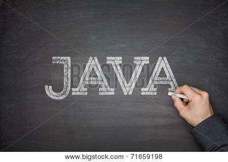 Java Concept On Blackboard