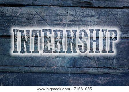 Internship Concept