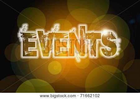 Events Concept