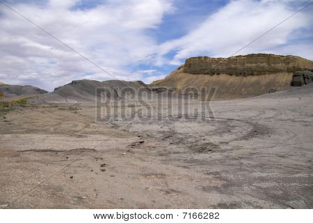 Reefs of Cainville's badlands