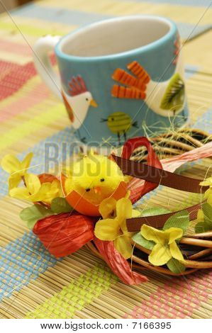 Ceramic cup and home decoration