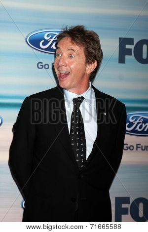 LOS ANGELES - SEP 8:  Martin Short at the 2014 FOX Fall Eco-Casino at The Bungalow on September 8, 2014 in Santa Monica, CA