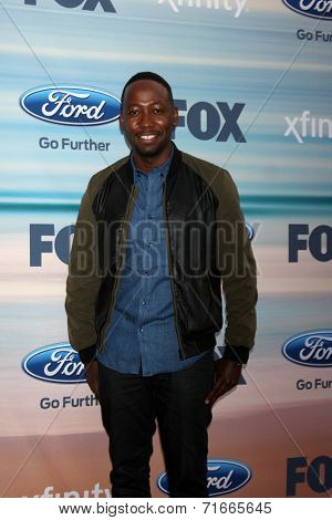 LOS ANGELES - SEP 8:  Lamorne Morris at the 2014 FOX Fall Eco-Casino at The Bungalow on September 8, 2014 in Santa Monica, CA