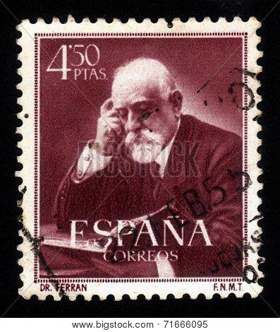Jaume Ferran Y Clua Spanish Bacteriologist