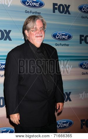 LOS ANGELES - SEP 8:  Matt Groening at the 2014 FOX Fall Eco-Casino at The Bungalow on September 8, 2014 in Santa Monica, CA