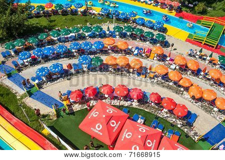 Colorful Aqua Park, Mamaia, Romania