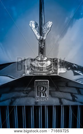 Luxury Rolls-royce Car Hood Ornament