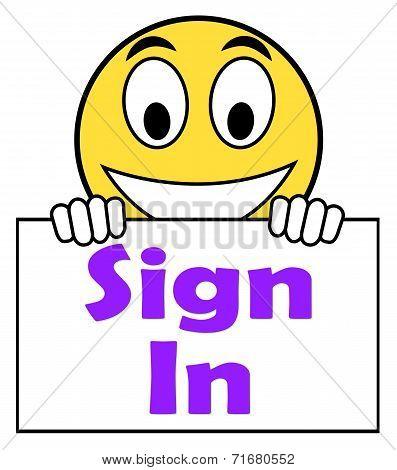 Sign In Sign Shows Log On Online