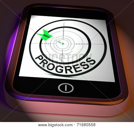 Progress Smartphone Displays Advancement Improvement And Goals