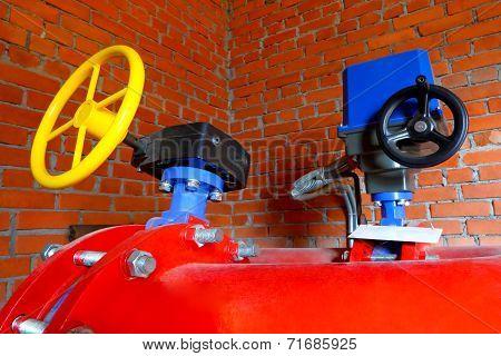 Industrial zone .Factory equipment