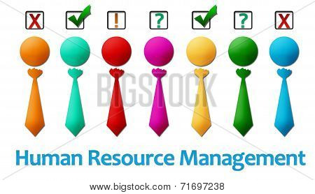 Human Resource Management Row