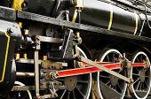 stock photo of train-wheel  - Close - JPG
