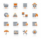 Network & Server // Graphite Icons Series