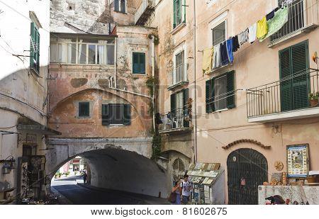 Amalfi Ancient Building
