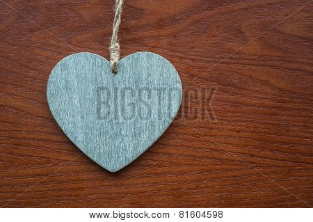 love heart wood texture background