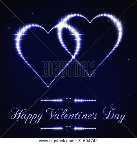 Valentine Constellation Blue