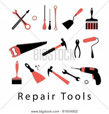 Icon Set Repair Tools