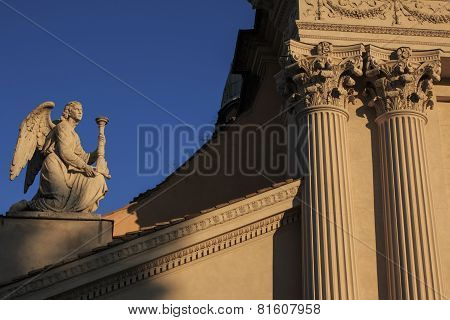 The Angel of San Rocco Church