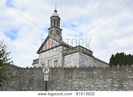 Church at the town of Cashel in Ireland.