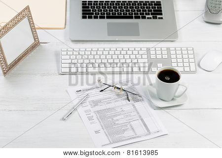 Complete Working Desktop With Tax Forms