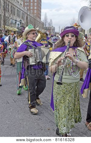 Mardi Gras Parade Band