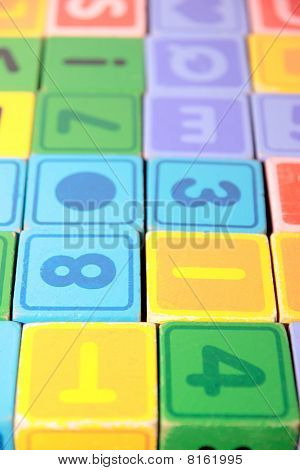 Childrens Play Letter Blocks