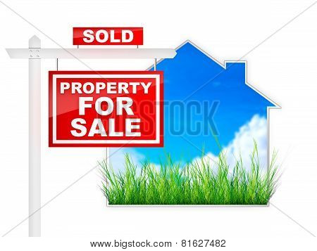Sign - Property For Sale