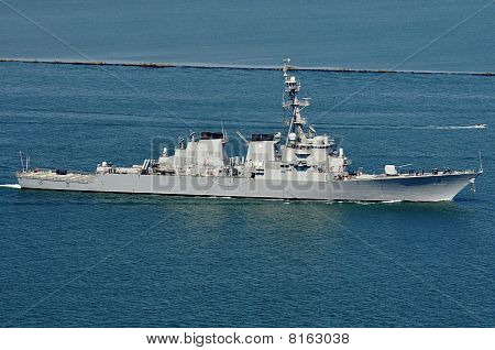 The USS Higgins (DDG 76)