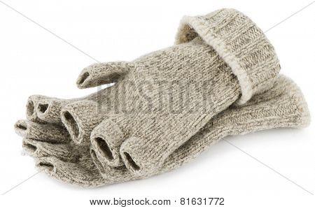 Pair of Fingerless Gloves