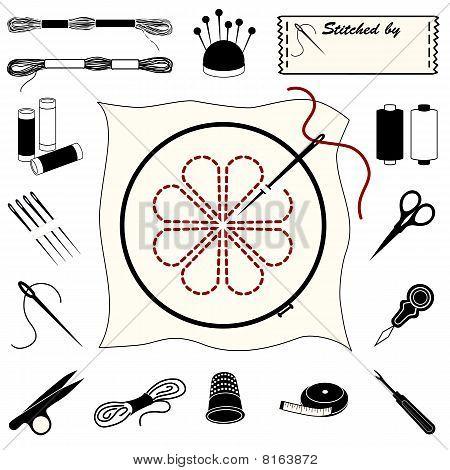 Embroidery & Needlework Icons