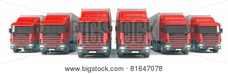 Truck - Red
