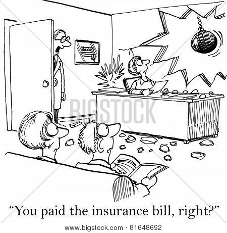 Doctor's Insurance Bill