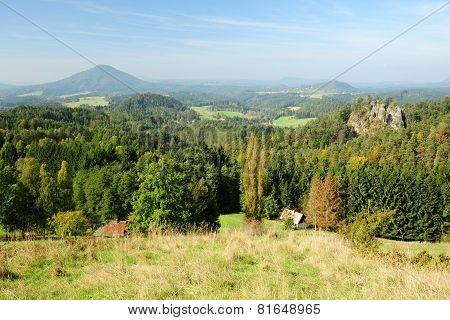 Panorama Of Beautiful Landscape