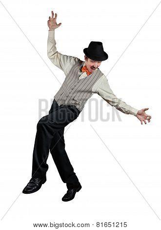 Ropewalker In Black Hat