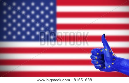 Positive Attitude Of The European Union For The United States
