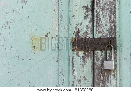 Old Wood And Lock Rust