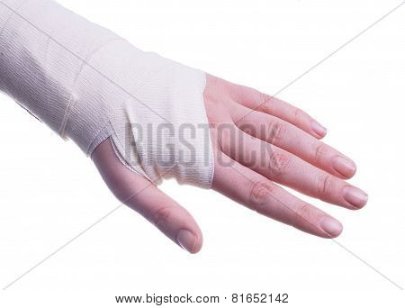 Sprained Hand