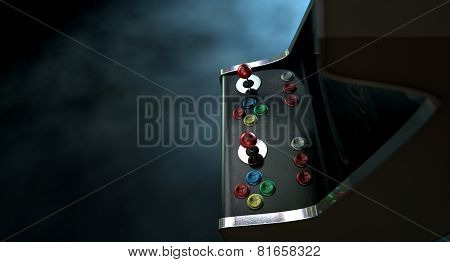 Arcade Machine Dramatic View