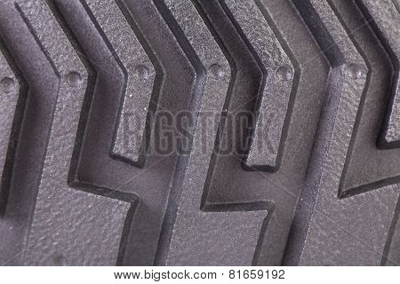 Tyre isolated