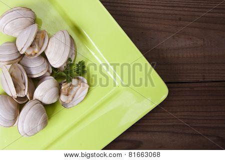 clams, seafood