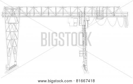 Gantry bridge crane