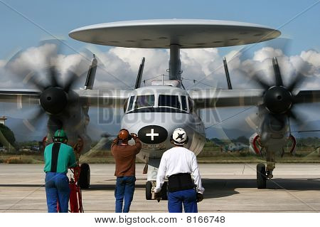 French E-2 Hawkeye