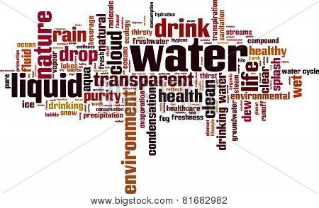 Water Word Cloud
