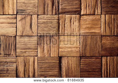 teak wood background