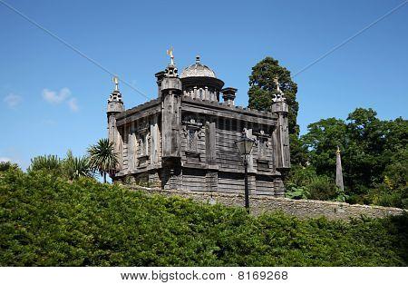 Palacio de Oberons en el castillo de Arundel