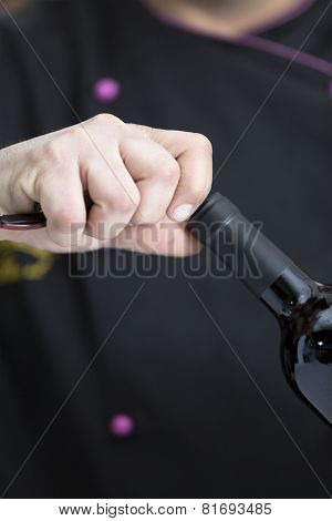 Uncorking A Bottle