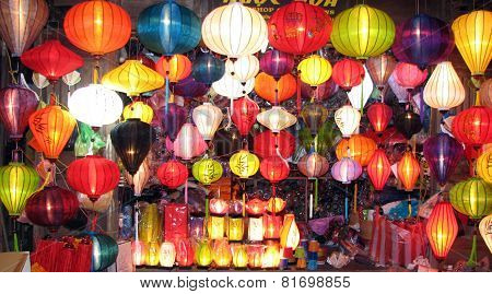 Silk Lanterns in Vietnam